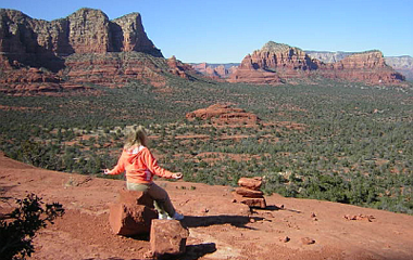 Meditation in Sedona